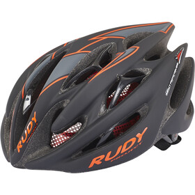 Rudy Project Sterling Helmet Black-Red Fluo (Matte)